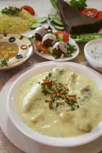ドバイの伝統料理の写真素材 [FYI04331121]