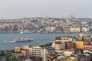 イスタンブール市街の写真素材 [FYI04331177]