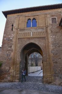 アルハンブラ宮殿の正義の門の写真素材 [FYI04331311]