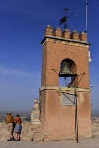 アルハンブラ宮殿 ナスル朝宮殿の城塞の写真素材 [FYI04331323]
