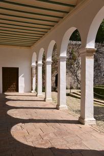 アルハンブラ宮殿のヘネラリーフェ離宮の写真素材 [FYI04331367]
