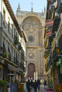 グラナダ大聖堂の写真素材 [FYI04331392]