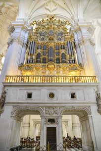 グラナダ大聖堂の写真素材 [FYI04331398]