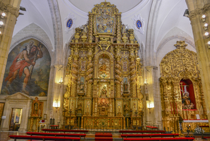 サンタマリアラマヨール教会の写真素材 [FYI04331464]