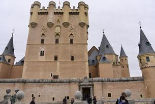 セゴビア城の写真素材 [FYI04331527]