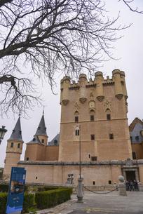 セゴビア城の写真素材 [FYI04331540]
