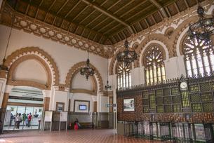 トレドの鉄道駅の写真素材 [FYI04331613]