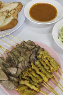 レストランの串料理の写真素材 [FYI04331651]