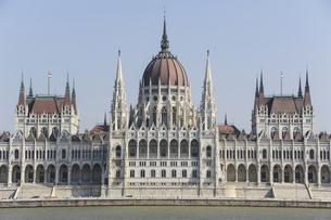 ハンガリーの国会議事堂の写真素材 [FYI04331794]