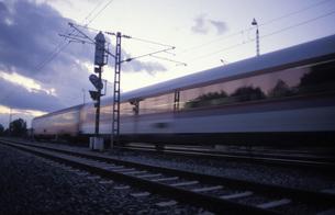 Germany, express trainの写真素材 [FYI04332700]