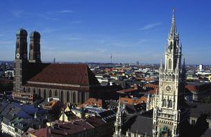 Germany, Munich, City viewの写真素材 [FYI04332723]