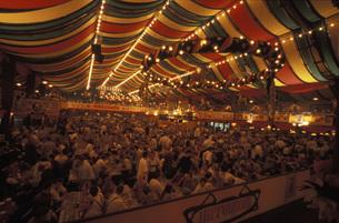 Oktoberfest, Munichの写真素材 [FYI04332760]