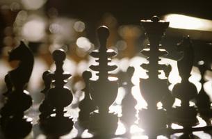 Chess piecesの写真素材 [FYI04332763]