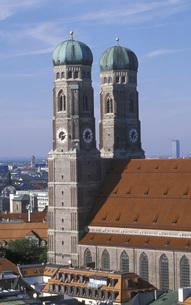 Frauenkirche, Munichの写真素材 [FYI04332766]