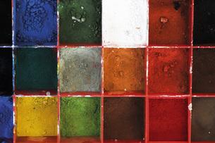Colour samplesの写真素材 [FYI04332768]