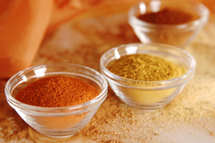 Variety of spices, close upの写真素材 [FYI04332796]