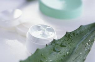 Aloe Vera skin creamの写真素材 [FYI04332825]