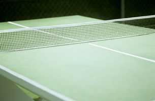 Table tennis table, close-upの写真素材 [FYI04332862]