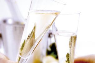 Champagne glassesの写真素材 [FYI04332917]