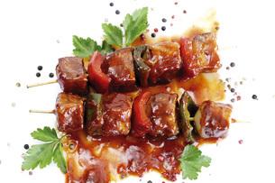 Meat skewerの写真素材 [FYI04332929]