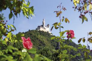 Germany, Marksburg on Rhineの写真素材 [FYI04332976]