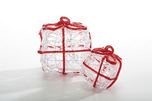 Christmas decoration, parcelsの写真素材 [FYI04332993]