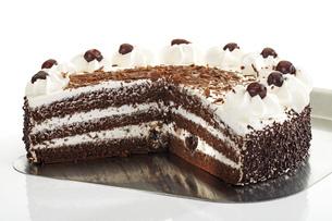 Black Forest Cakeの写真素材 [FYI04333013]