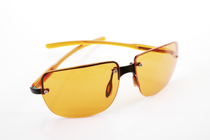 Sun glasses, close-upの写真素材 [FYI04333065]