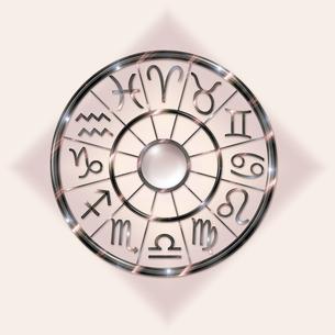 The twelve signs of the Zodiacの写真素材 [FYI04333082]