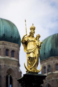 Germany, Bavaria, Munich, St Mary's Columnの写真素材 [FYI04333122]