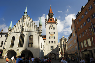 Germany, Bavaria, Munich, Old city hallの写真素材 [FYI04333125]