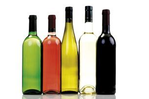 Wine bottlesの写真素材 [FYI04333157]