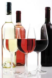 Glasses of wineの写真素材 [FYI04333161]