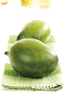 Green mangosの写真素材 [FYI04333186]