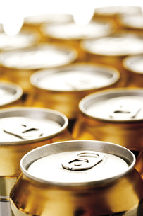 Beer cansの写真素材 [FYI04333212]