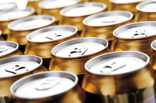 Beer cansの写真素材 [FYI04333213]