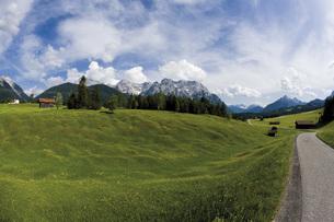 Germany, Upper Bavaria, Werdenfelser Land, Landscapeの写真素材 [FYI04333251]