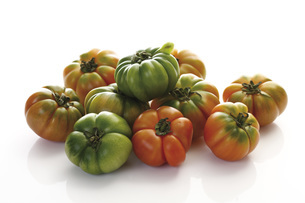 Oxheart Tomatoesの写真素材 [FYI04333256]