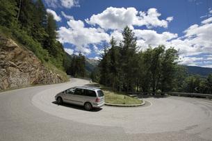 Italy, South Tyrol, Jaufenpassの写真素材 [FYI04333265]