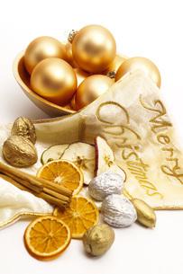 Christmas decorationの写真素材 [FYI04333338]