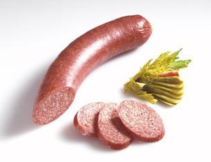Sausage, saveloyの写真素材 [FYI04333340]