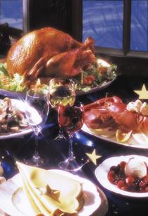 Christmas dinnerの写真素材 [FYI04333351]