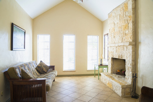 USA, Texas, Interior of homeの写真素材 [FYI04333544]