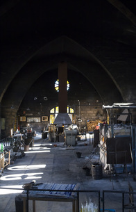 Spain, Mallorca, Glass factoryの写真素材 [FYI04333824]