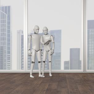 Robot standingのイラスト素材 [FYI04334227]