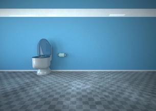 Illustration of bathroomのイラスト素材 [FYI04334403]