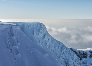 United Kingdom, Scotland, Ben Nevis, Tower Ridgeの写真素材 [FYI04334462]