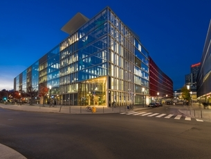 Germany, Hesse, Frankfurt, European Quarter, Bank BNP Paribaの写真素材 [FYI04334581]