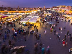 Africa, Morocco, Marrakesh-Tensift-El Haouz, Marrakesh, Viewの写真素材 [FYI04334617]