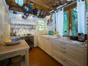 County style kitchenの写真素材 [FYI04334635]